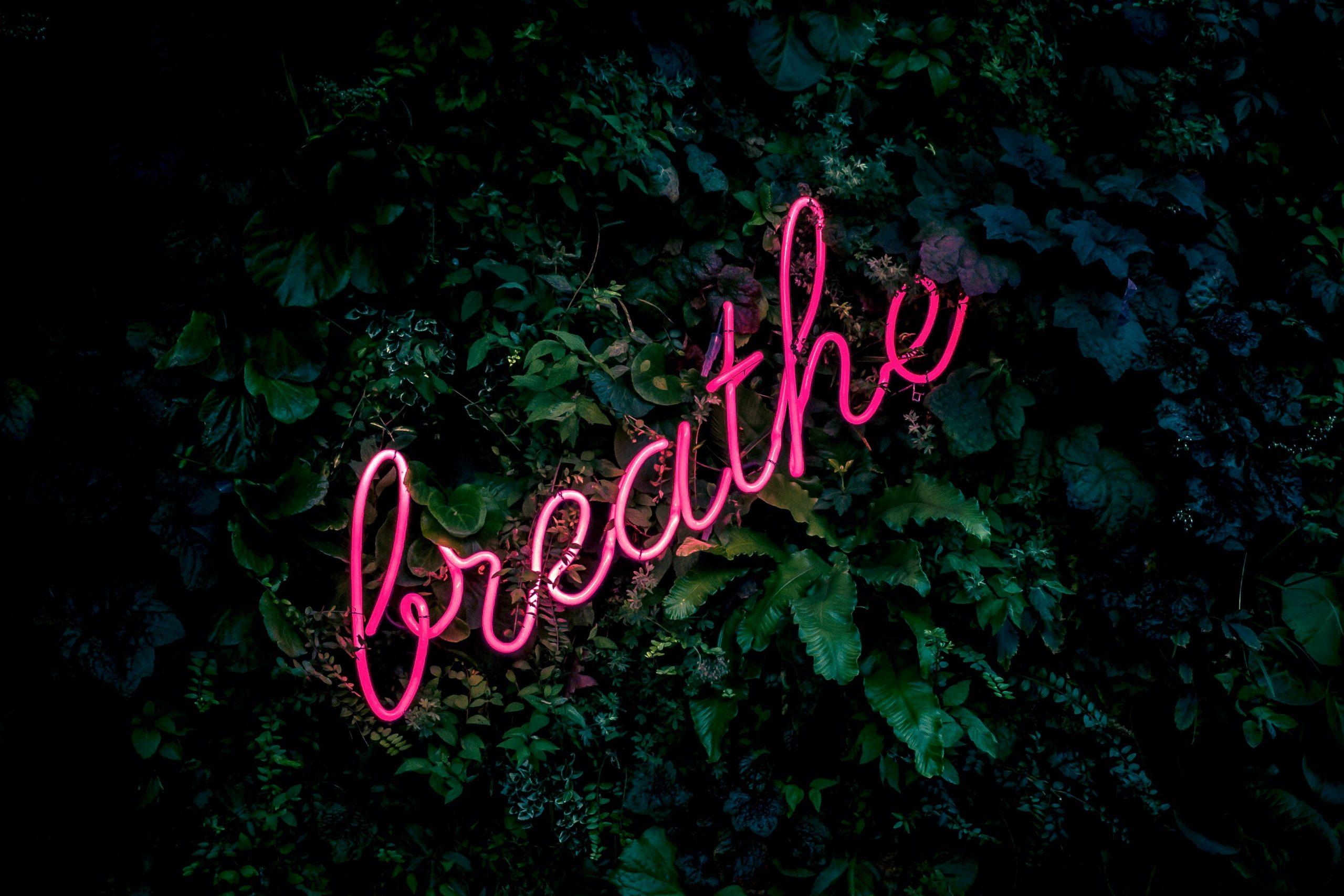 anxiety breath